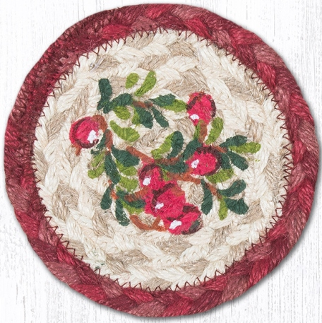 IC-390 Cranberries Individual Coaster 5 In