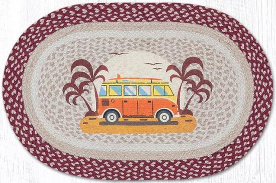 OP-524 Endless Summer Oval Patch Rug 20x30