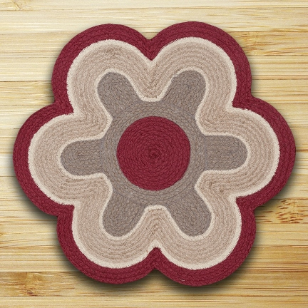 Flower Shaped Rugs