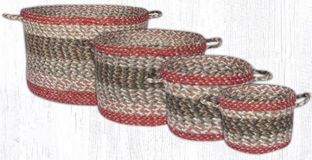UB 9-24 Olive Craft-Spun Utility Baskets