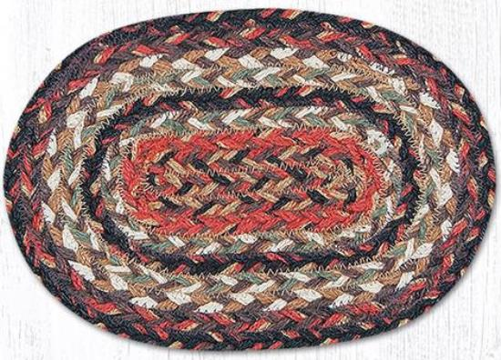 OMS 9-90 Terracotta Oval Swatch 7.5x11-OMS 9-90 Terracotta Oval Swatch 7.5x11