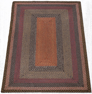 RC-043 Burgundy-Blue-Gray Braided Rectangle-Oblong Rug 5x8-RC-043 Burgundy-Blue-Gray Braided Rectangle-Oblong Rug 5x8