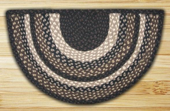 SC-313 Mocha-Frappuccino Braided Slice Rugs