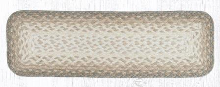 RC-776 Natural Braided Rectangle Stair Tread 27x8.25-RC-776 Natural Braided Rectangle Stair Tread 27x8.25