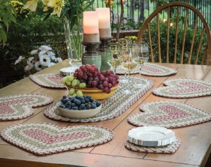 Braided Cotton Tabletop Accents