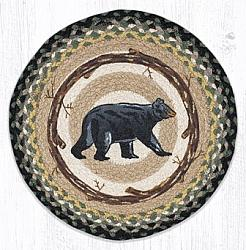 PM-RP-116 Mama Bear Printed Round Placemat 15 Dia-PM-RP-116 Mama Bear Printed Round Placemat 15 Dia