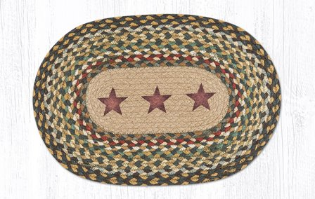 MSP-051 Gold Stars Oval Printed Swatch 10x15-MSP-051 Gold Stars Oval Printed Swatch 10x15