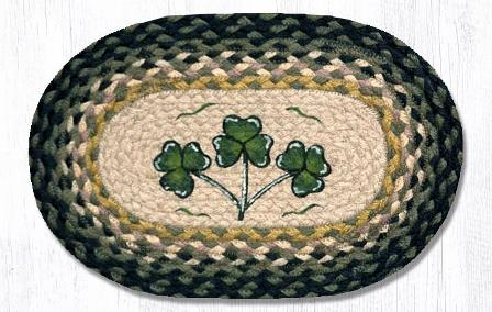 MSP-116 Shamrock Printed Oval Swatch 10x15