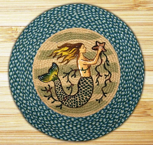 RP-245 Mermaid Round Patch 27x27